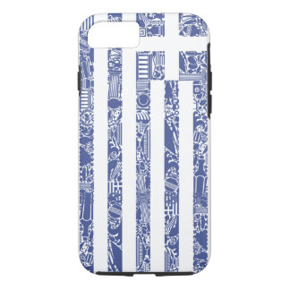 Greece Printed Tattoo Totem Country Flag iPhone 8/7 Case