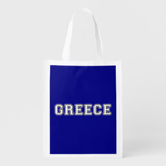 Greece Reusable Grocery Bag