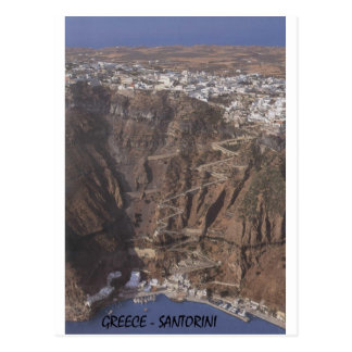 Greece Santorini (St.K) Postcard