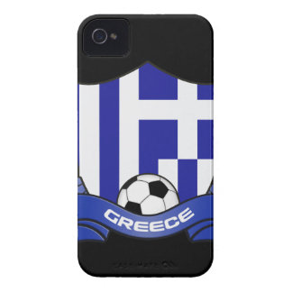 Greece Soccer iPhone 4/4S Case-Mate Barely There Case-Mate iPhone 4 Cases