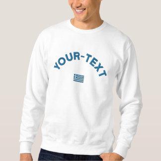 Greece Sweatshirt  - Greece Custom Text