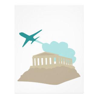 Greece Travel Letterhead Design