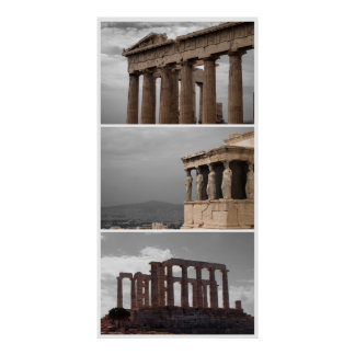 Greece Triple Poster