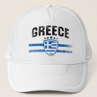 Greece Trucker Hat