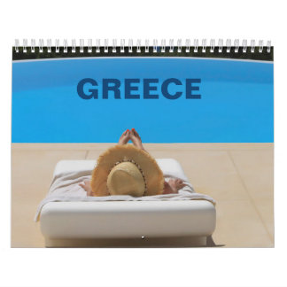 Greece Wall Calendar