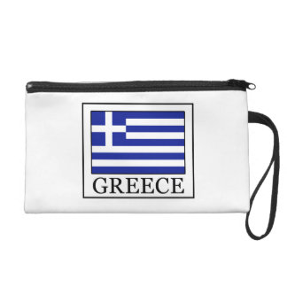 Greece Wristlet