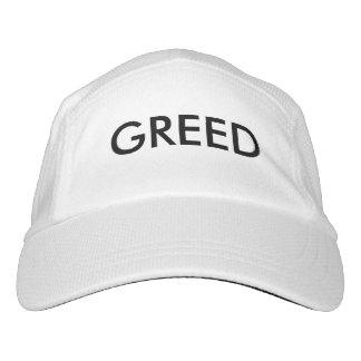 Greed Baseball Cap! Headsweats Hat