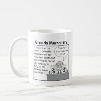 Greedy Mercenary Coffee Mug