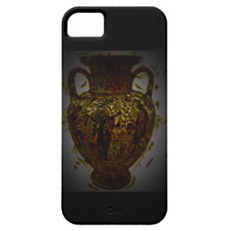 greek abstract poetry crazy unique pottery iPhone 5 case