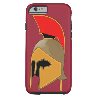 Greek ancient helmet tough iPhone 6 case