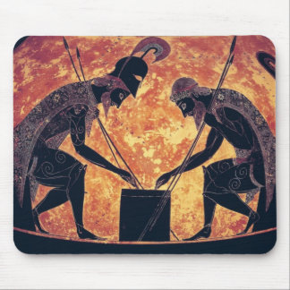 Greek Art: Achilles and Ajax Mouse Pad