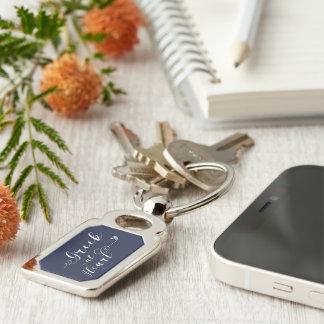 Greek At Heart Keyring, Greece Keychain