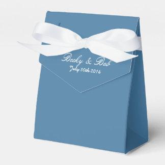 Greek Blue Favor Box