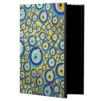 Greek Blue Glass Evil Eye Amulet Pattern Powis iPad Air 2 Case