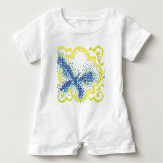 Greek - Butterfly Baby Romper