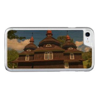Greek catholic church, Nizny Komarnik, Slovakia Carved iPhone 8/7 Case