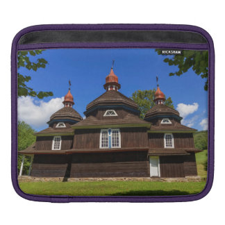 Greek catholic church, Nizny Komarnik, Slovakia iPad Sleeve
