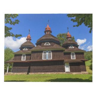Greek catholic church, Nizny Komarnik, Slovakia Notepad
