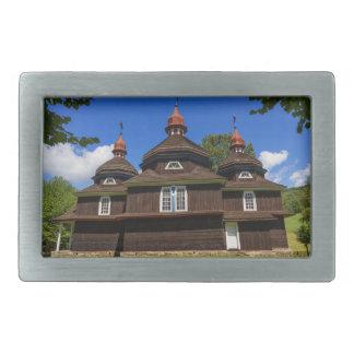 Greek catholic church, Nizny Komarnik, Slovakia Rectangular Belt Buckle