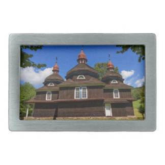 Greek catholic church, Nizny Komarnik, Slovakia Rectangular Belt Buckles