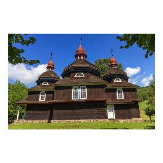 Greek catholic church, Nizny Komarnik, Slovakia Stationery