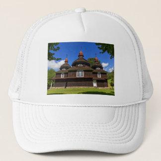 Greek catholic church, Nizny Komarnik, Slovakia Trucker Hat