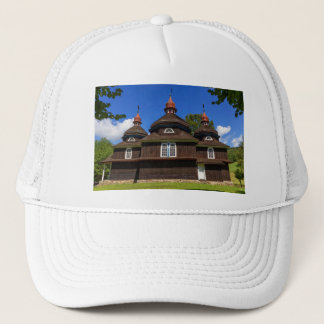 Greek catholic church, Nizny Komarnik, Slovakia Trucker Hat