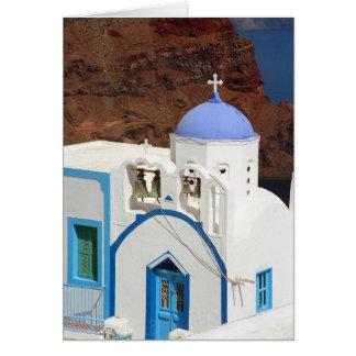 Greek church Card