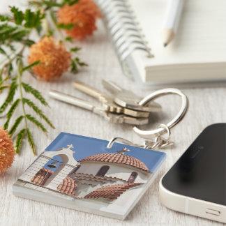 Greek Church Keychain Acrylic Key Chains