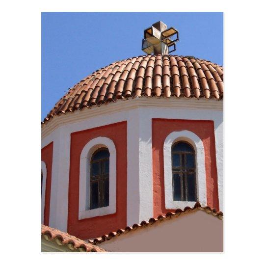Greek Church Postcard