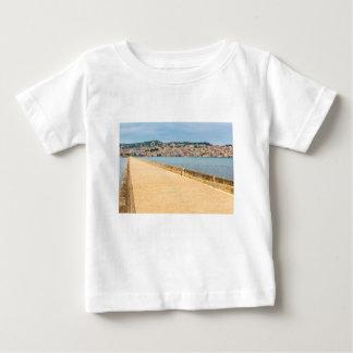 Greek City Port Argostoli with road on bridge Baby T-Shirt