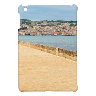 Greek City Port Argostoli with road on bridge Cover For The iPad Mini