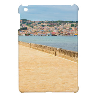 Greek City Port Argostoli with road on bridge iPad Mini Cover