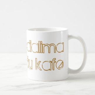 """Greek """"coffee break"""" mug"""