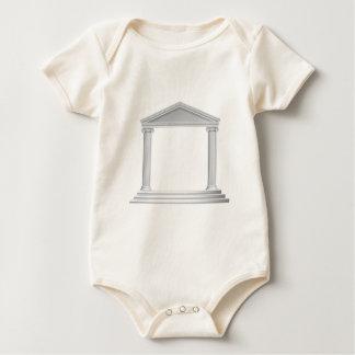 Greek Column Temple Baby Bodysuit
