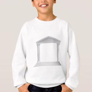 Greek Column Temple Sweatshirt