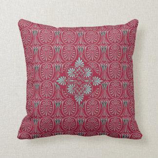 Greek Design Motif Greco-Roman Classical Design Throw Pillow