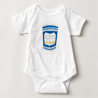 Greek Diner Coffee Happy to Serve You Baby Suit Baby Bodysuit