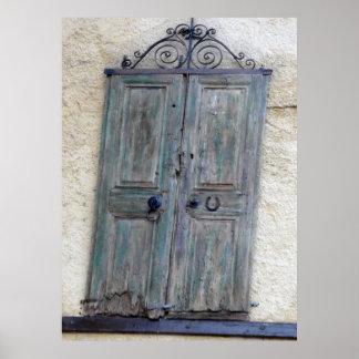 Greek Door Print