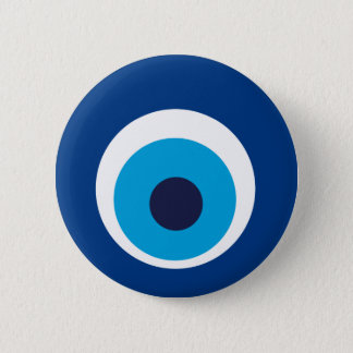 Greek eye 2 inch round button