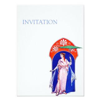 Greek Fashion Invitation