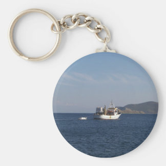 Greek Fishing Boat Key Chain
