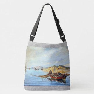 Greek Fishing Boats Ocean Fishermen Tote Bag