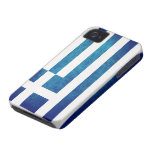 Greek Flag Case-Mate iPhone 4 Cases