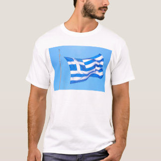 Greek flag in Athens T-Shirt