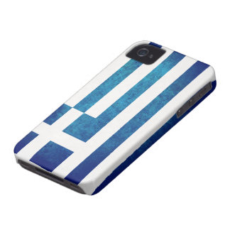Greek Flag iPhone 4 Case
