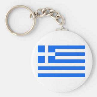 greek Flag Keychains