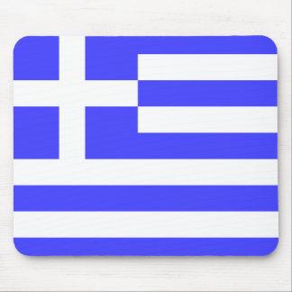 Greek Flag Mouse Pad
