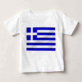 Greek flag of Greece hellenic flag gifts Baby T-Shirt