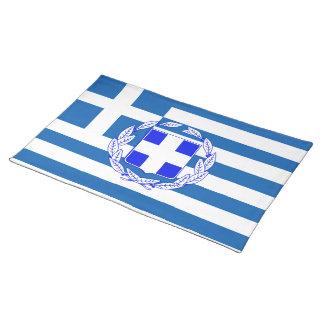 Greek flag placemat